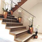 schody stylizacja storczyki